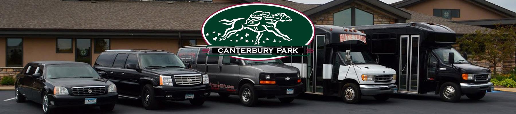 NiteTrane Official Transportation of Canterbury Park