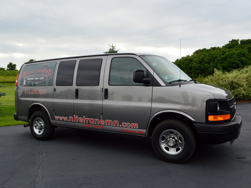 transportation van exterior