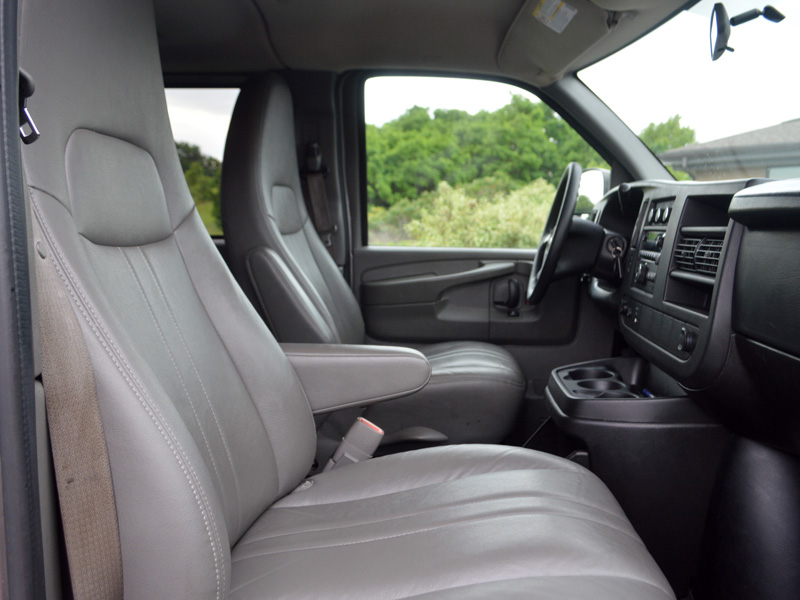 transportation van interior