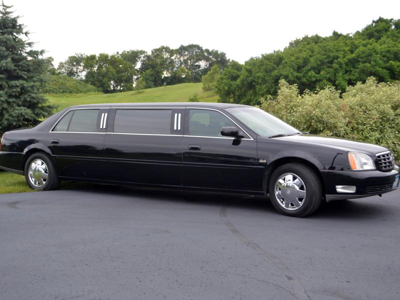 6 passenger stretch limousine exterior transportation mn