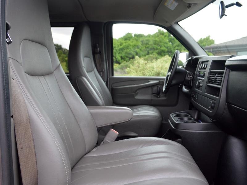 transportation van interior